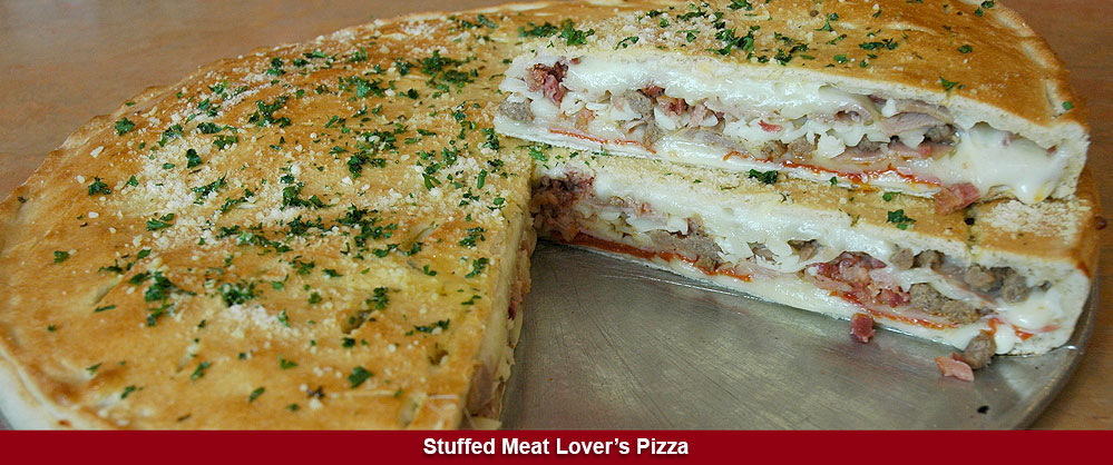Stuffed Meat Lovers Pizza