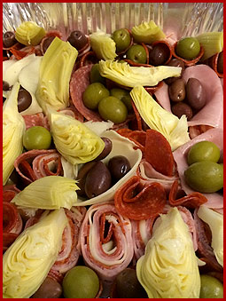 Kings New York Pizza Catering Antipasto Salad Tray