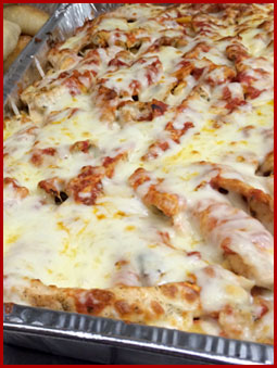 Kings New York Pizza Catering Chicken Parmesan Tray